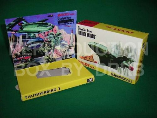 Dinky #101 Thunderbird 2 ( &4 ) - Reproduction Box